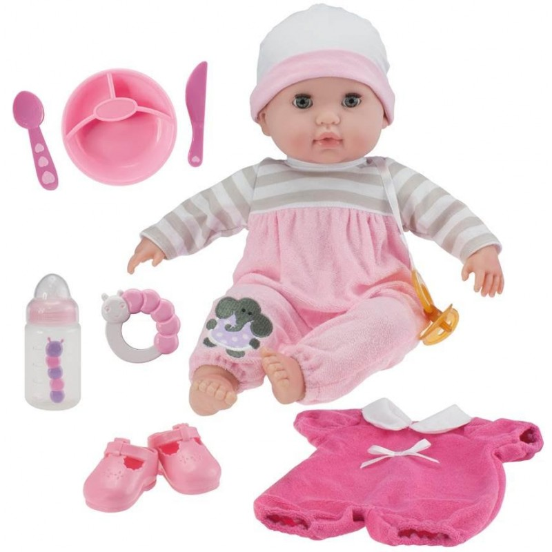 Toy Baby Doll : Berenguer boutique soft body doll gift set cm baby
