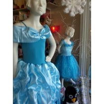 Princess Dress  in blue,