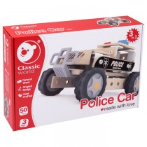 Classic World Builder Police Car (pop up store special)