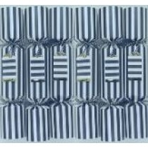 Christmas Crackers - Black and White Stripe