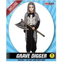 funkiwi halloween costume - Grave Digger Child