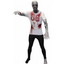 HALLOWEEN COSTUME ZOMBIE MORPHSUIT ADULTS