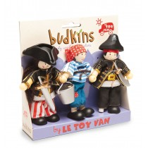 Le Toy Van Budkins Gift Pack Pirate Set