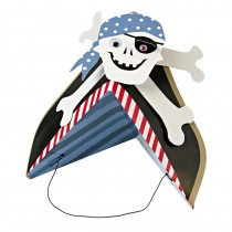 Meri Meri Ahoy There Pirate Party Hats 8pk