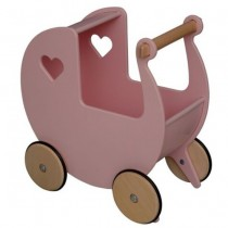 Moover Toys - Wooden Dolls Pram -assorted colours