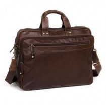 Oran- Leather Vince Computer/Satchel