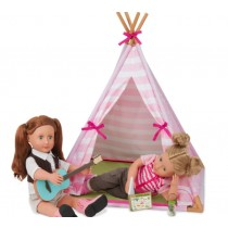 Our Generation Doll Mini Suite Teepee