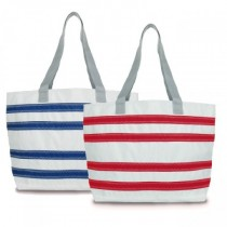 Sailor Bag Nautical Stripes beach tote