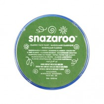 Snazaroo Facepaint 18ml Pot Grass Green