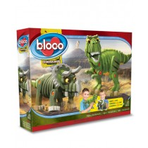 Bloco- The T-Rex and Triceratops